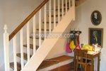 дървен парапет за стълби