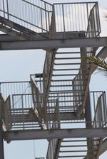 външно стълбище от метал по поръчка