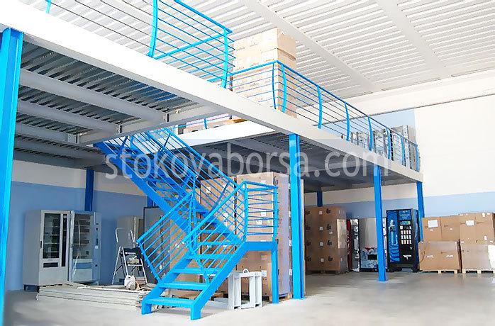 метални стълбища