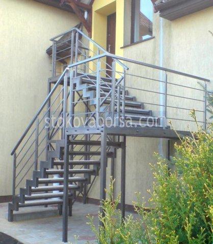 изграждане на метални стълбища