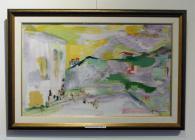 Картина на Динко Ненов - Светлина над храма