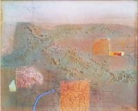 Авторска живописна картина На три реки
