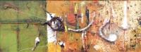 Живописна авторска картина Релефите на съня 2