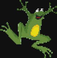 Мозайка за стена - Жаба