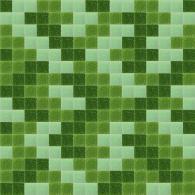 Зелена мозайка за облицоване на стени