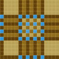 Кафява мозайка за облицоване