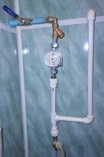 смяна на водомери за топла и студена вода